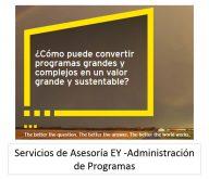 ADMINISTRACIÓN DE PROGRAMAS TI