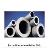 BARRAS HUECAS INOXIDABLES 304L