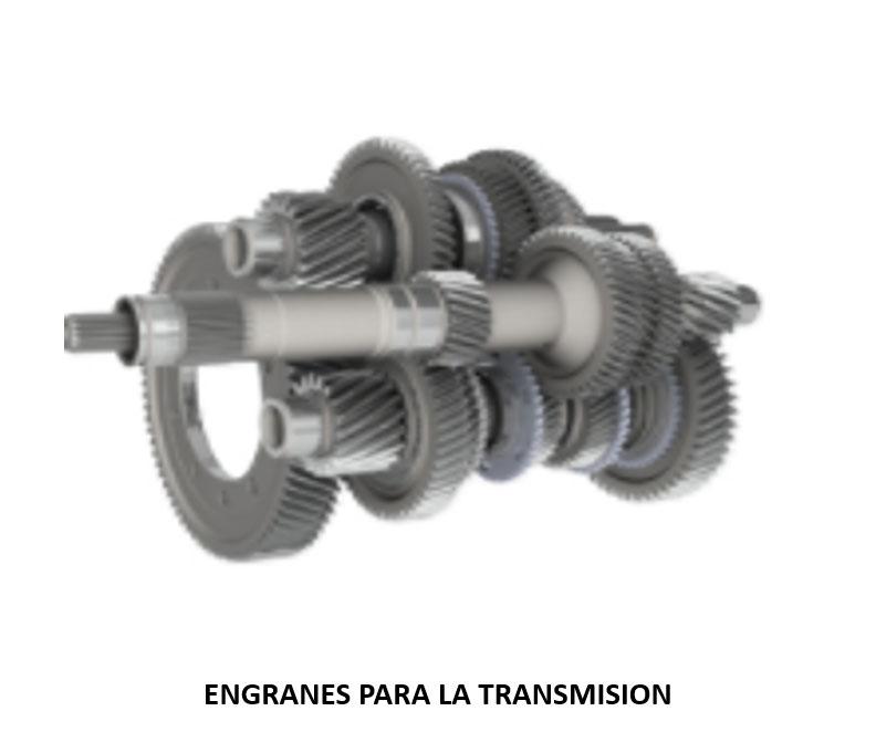ENGRANES PARA LA TRANSMISION