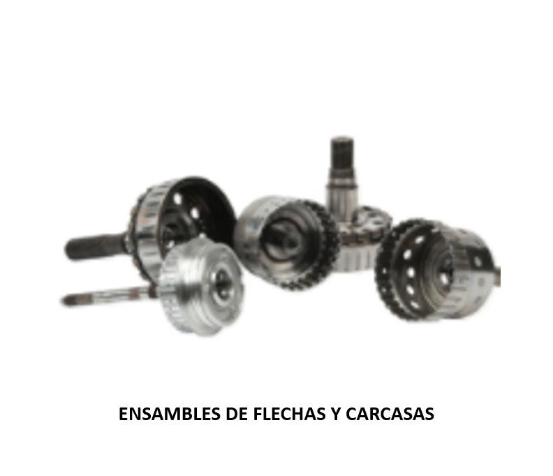 ENSAMBLES DE FLECHAS Y CARCASAS