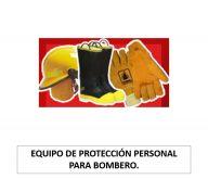 Equipo de protección personal para bombero