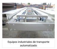 EQUIPOS INDUSTRIALES DE TRANSPORTE AUTOMATIZADO