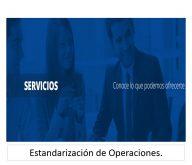 Estandarización de operaciones