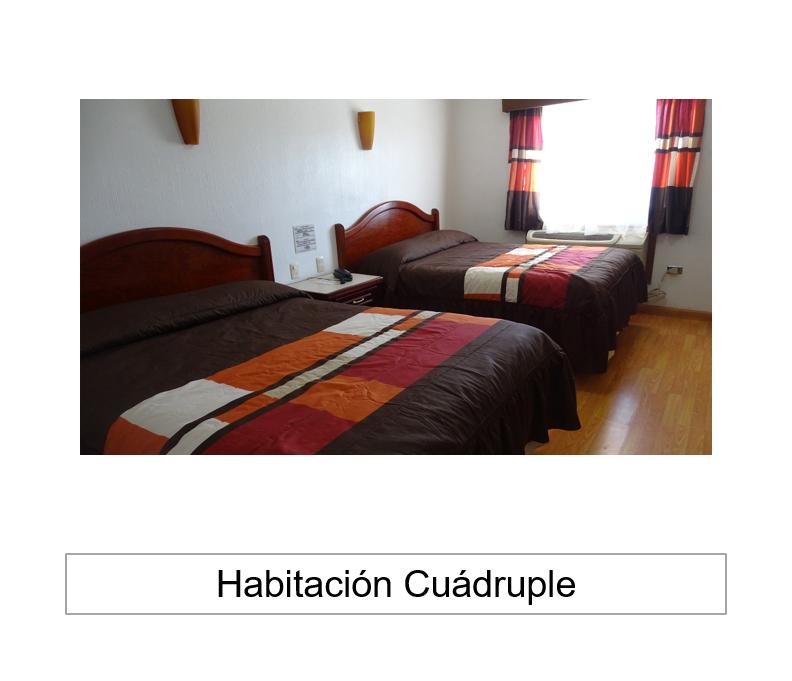 HABITACIÓN CUÁDRUPLE