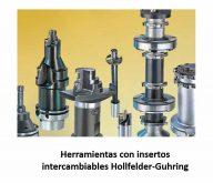 Herramientas con insertos intercambiables hollfelder-guhring