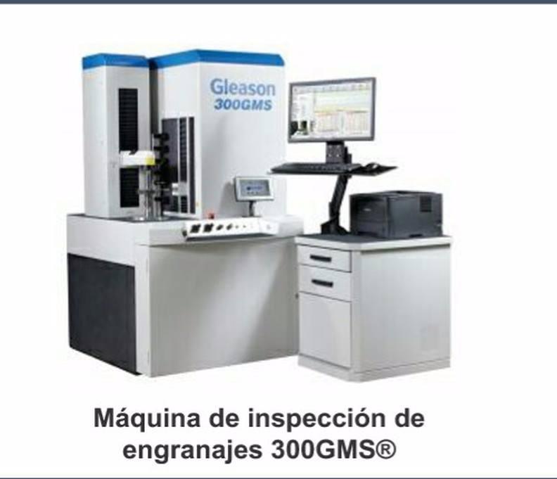 Máquina de inspección de engranajes 300gms®