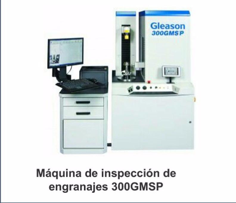 Máquina de inspección de engranajes 300gmsp