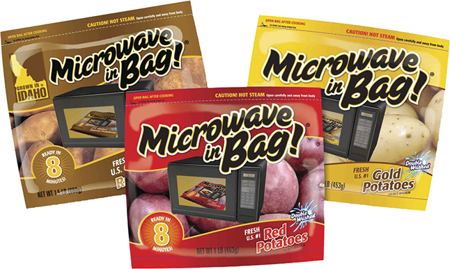 Microwavable pouch
