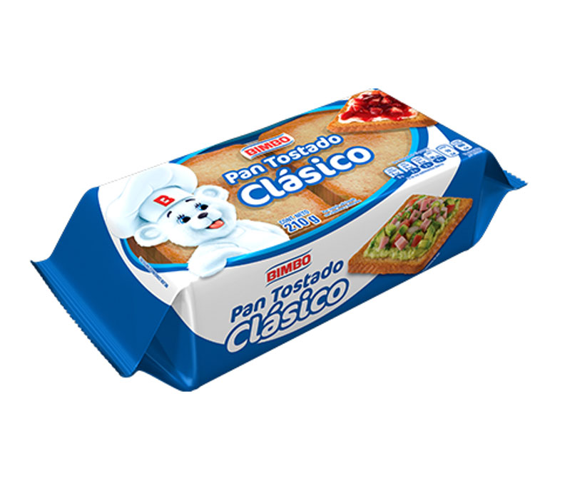 PAN TOSTADO BLANCO
