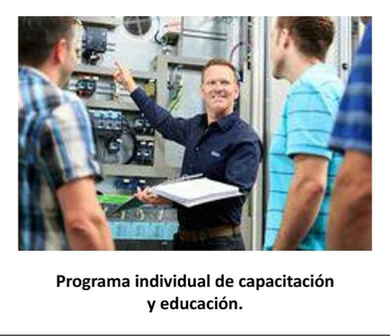 Programa individual de capacitación y educación