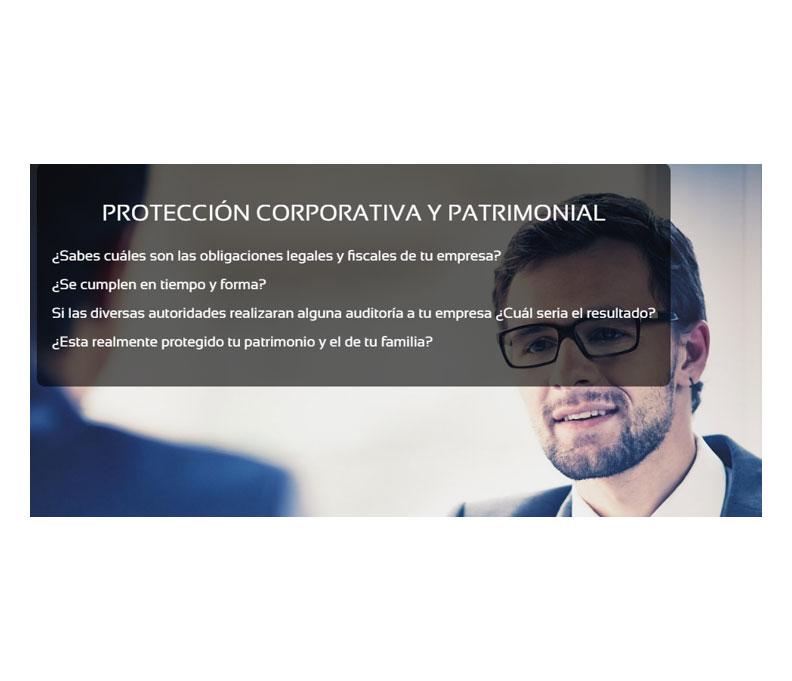 Protección corporativa y patrimonial