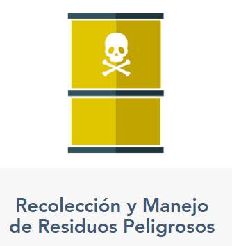 Recolección y manejo de residuos peligrosos