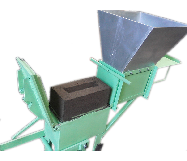 TA-100, Maquina manual para fabricar BLOCK ECOLÓGICO De Tierra comprimida