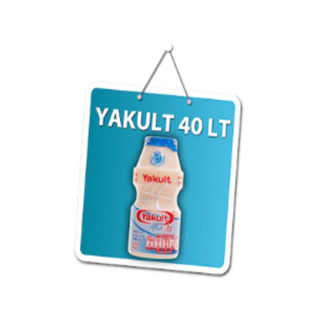 """YAKULT 40LT"
