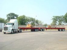 Plataformas para el Transporte con 54 toneladas de capacidad
