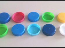 Tapas de plástico para garrafones