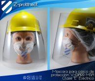 Te ofrecemos el servicio de adecuación de careta a tu casco modelo que manejo V-GARD MSA CLASE-E ELÉCTRICO