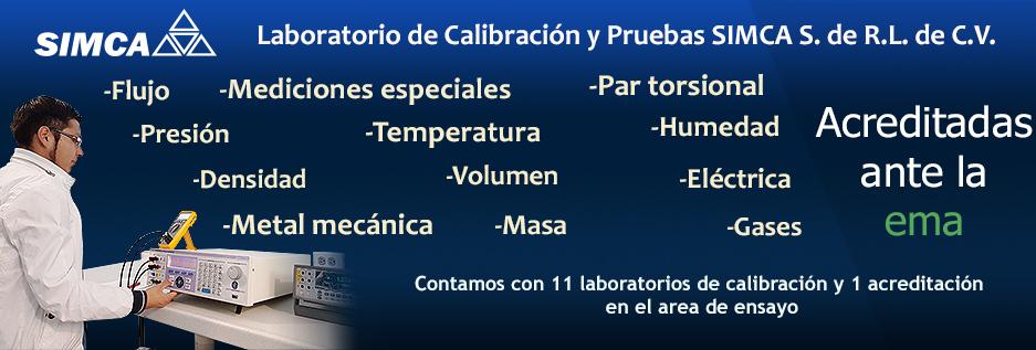 LABORATORIO DE CALIBRACION Y PRUEBAS SIMCA
