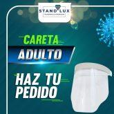 Careta de protección sanitizaria