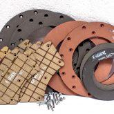 clutch y freno para mantenimiento y reparación agrícola