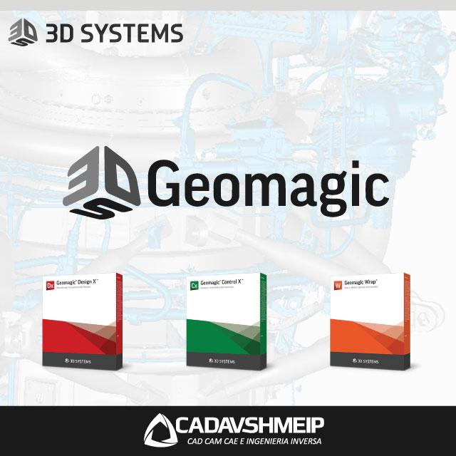 Geomagic Software para Ingeniería Inversa