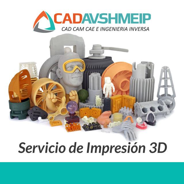 Servicios de Impresión 3D Profesional y Manufactura Aditiva