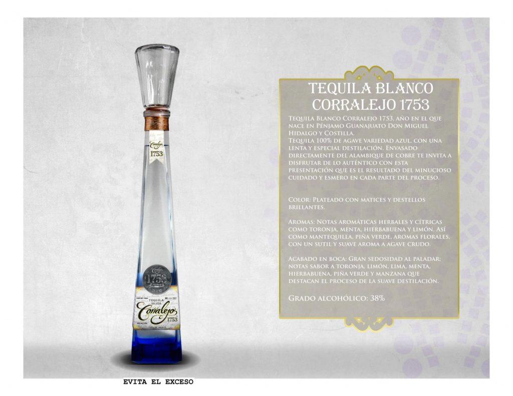 Tequila Corralejo 1753 Blanco