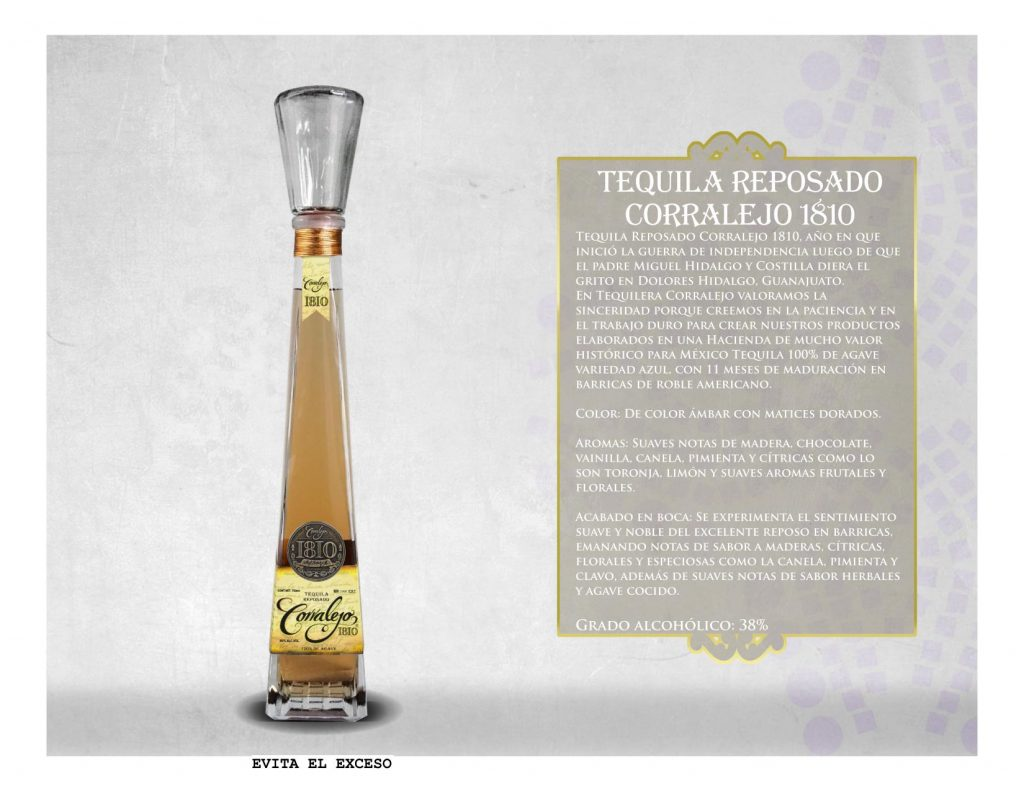Tequila Corralejo 1810 Reposado