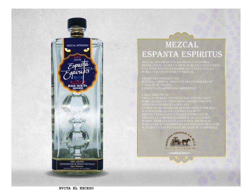 Mezcal Espanta Espíritus 750 ml