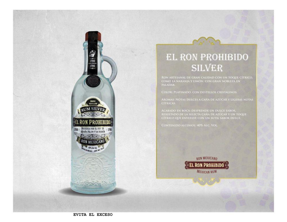 Ron Prohibido Silver 750 ml
