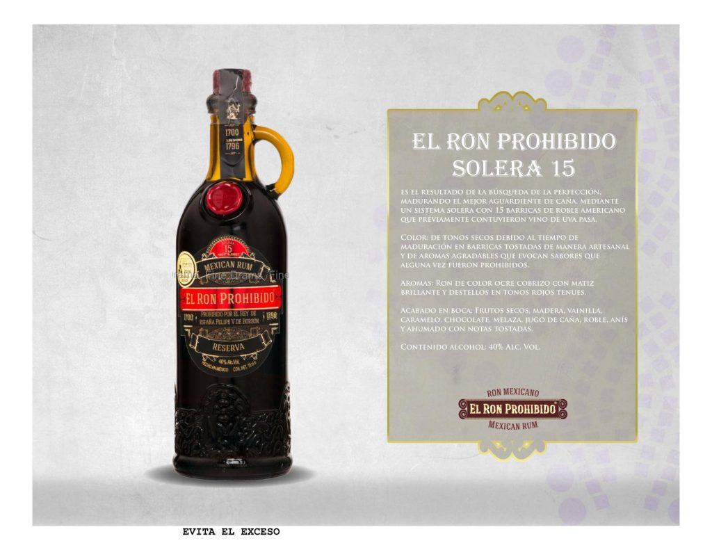 El Ron Prohibido Solera 15 750 ml