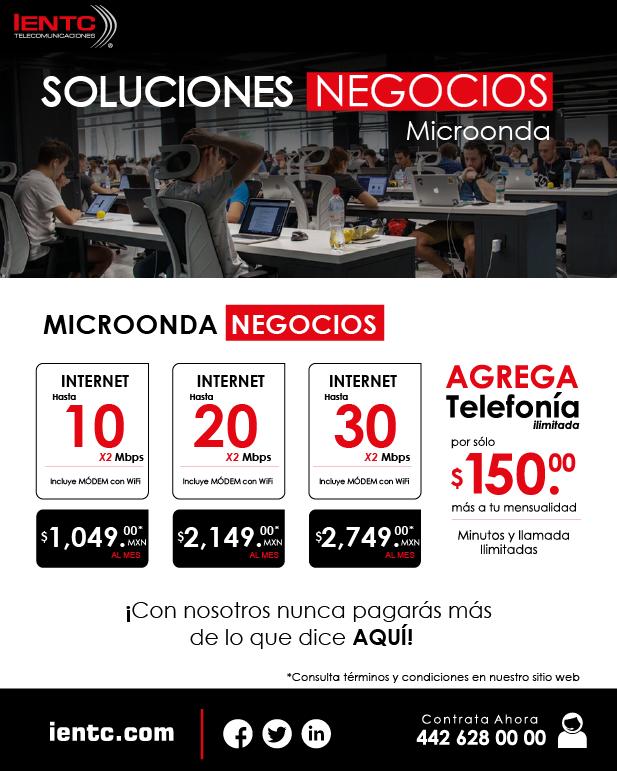 Soluciones Negocios Microonda
