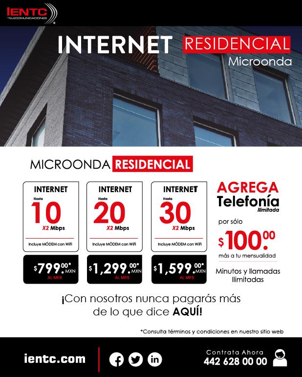 Internet Residencial Microonda