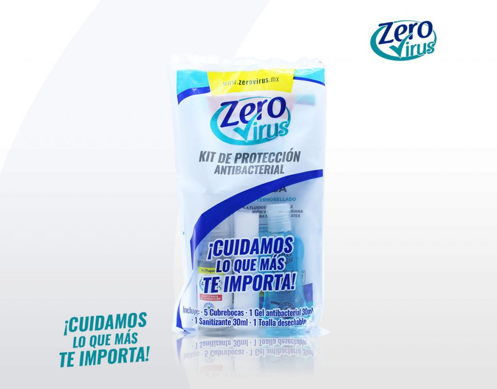 Kit de protección antibacterial Zero Virus