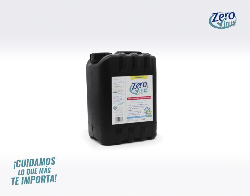 Sanitizante de superficies 5 Litros