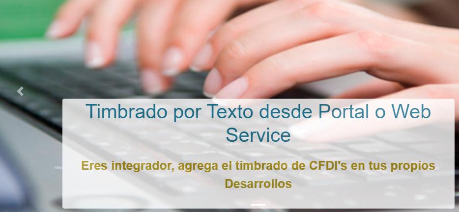 Timbrado CFDI desde Texto o XML