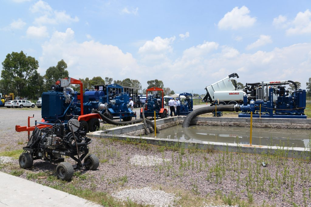 •Bombeo y By-pass; bombeo hidráulico sumergible, achique, trasiego y sistema de by-pass.